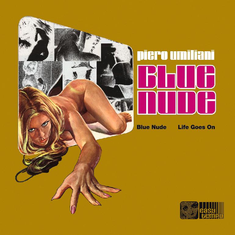 Blue Nude di Piero Umiliani ( Right Tempo) - Copertina 45 giri